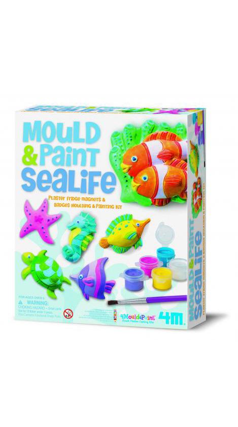 4m(フォーエム)モールド&ペイント海の生き物