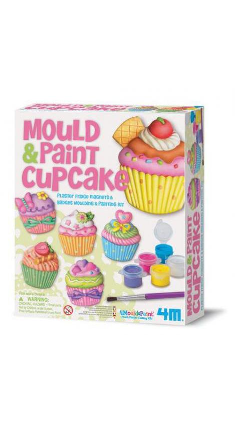 4m(フォーエム)モールド&ペイントカップケーキ