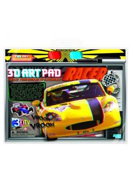 4m(フォーエム)3Dブックシリーズ レーサー