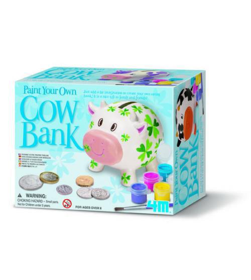 4m(フォーエム)牛の貯金箱