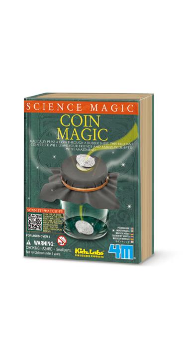 4m(フォーエム)サイエンスマジックシリーズ コインマジック