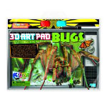 4m(フォーエム) 3Dブックシリーズ 昆虫
