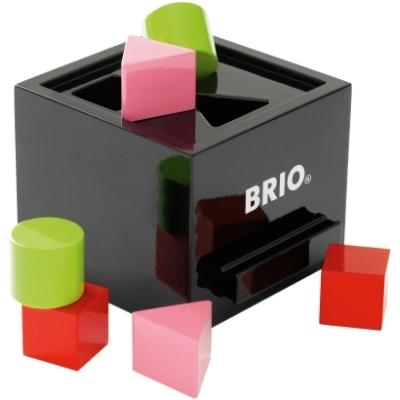 BRIO(ブリオ)形合わせボックス(黒)