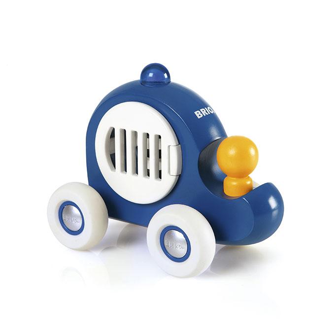 BRIO(ブリオ)プッシュトイ パトカー