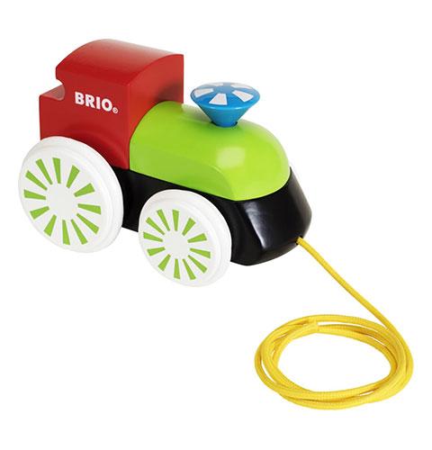 BRIO(ブリオ)木製蒸気機関車(カラー)