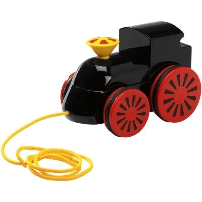 BRIO(ブリオ)木製蒸気機関車(黒)