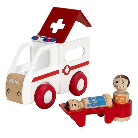 BRIO(ブリオ)ライト&サウンド 救急車