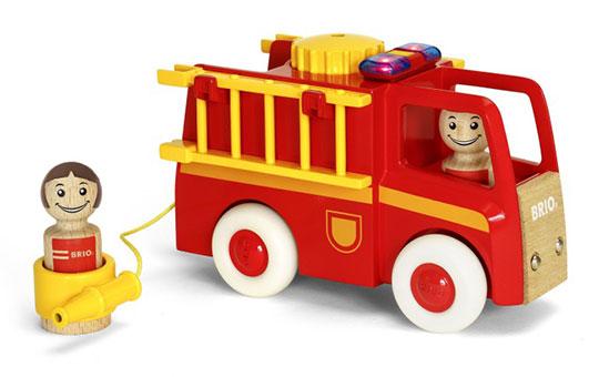 BRIO(ブリオ)ライト&サウンド 消防車