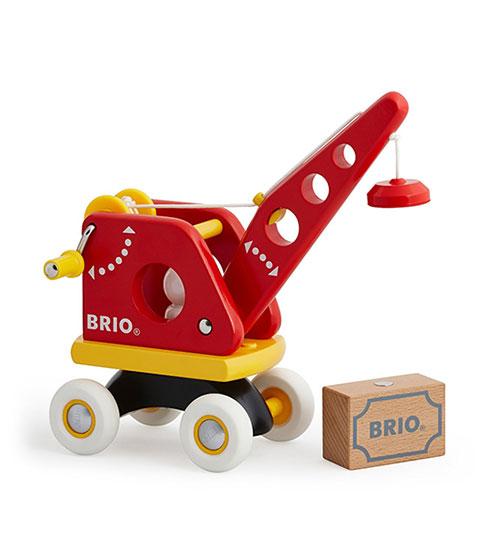 BRIO(ブリオ)クレーンと荷物