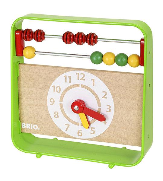 BRIO(ブリオ)時計付きアバカス