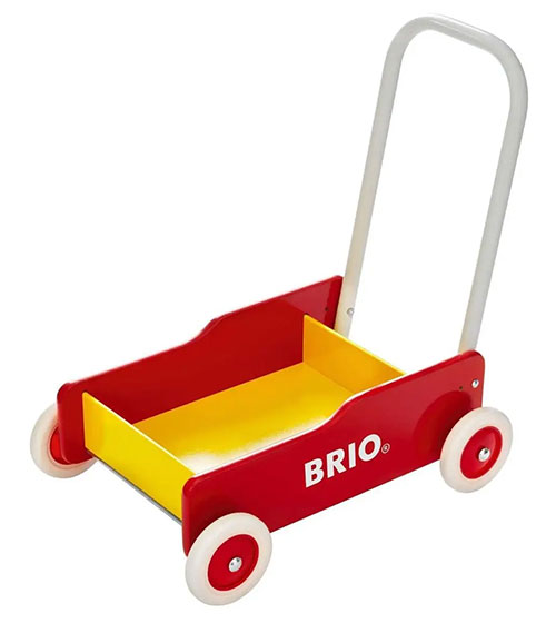 BRIO(ブリオ)手押し車(赤)