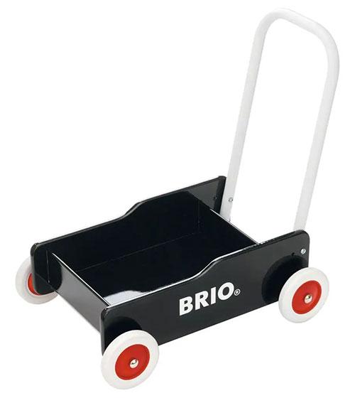 BRIO(ブリオ)手押し車(黒)