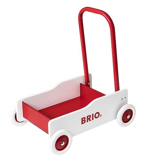 BRIO(ブリオ)手押し車(白)