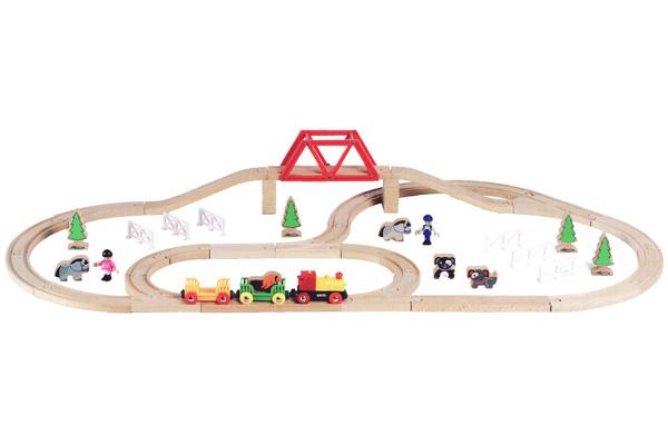BRIO(ブリオ)トレイン&ファームセット(バッテリー機関車限定セット)