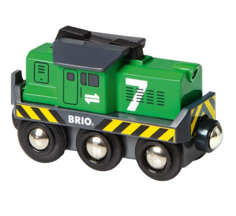 BRIO(ブリオ)バッテリーパワー貨物輸送エンジン