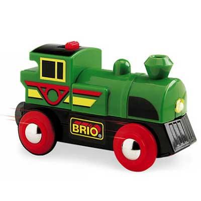 BRIO(ブリオ)バッテリーパワー機関車