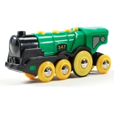 BRIO(ブリオ)緑のアクション機関車