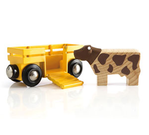 BRIO(ブリオ)牛とワゴン