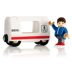BRIO(ブリオ)トラベルワゴン&乗客