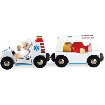 BRIO(ブリオ)ライト&サウンド付救急車