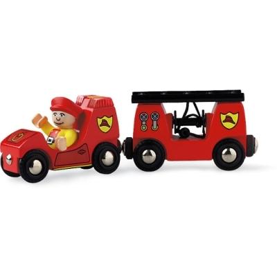 BRIO(ブリオ)ライト&サウンド付消防車