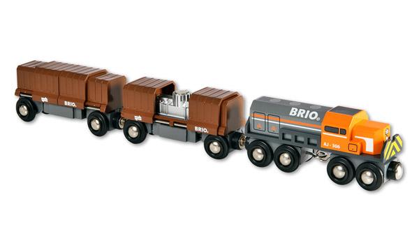 BRIO(ブリオ)ボックスカー・トレイン