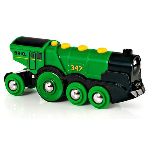 BRIO(ブリオ)ビッググリーンアクション機関車