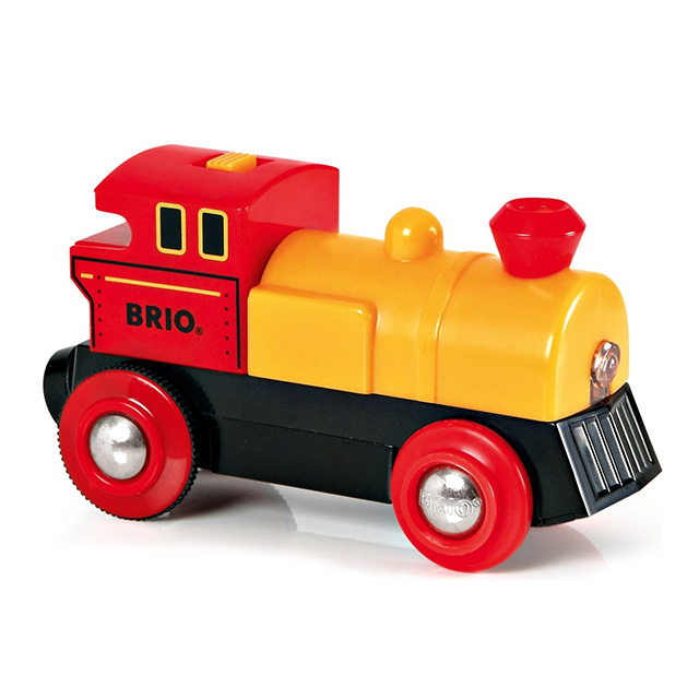 BRIO(ブリオ)バッテリーパワー機関車(黄色)