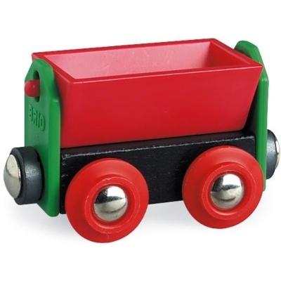BRIO(ブリオ)赤いティッパーワゴン