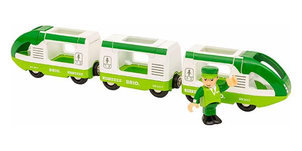 BRIO(ブリオ)緑のトラベルトレイン