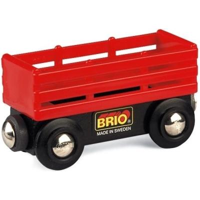 BRIO(ブリオ)赤い家畜ワゴン