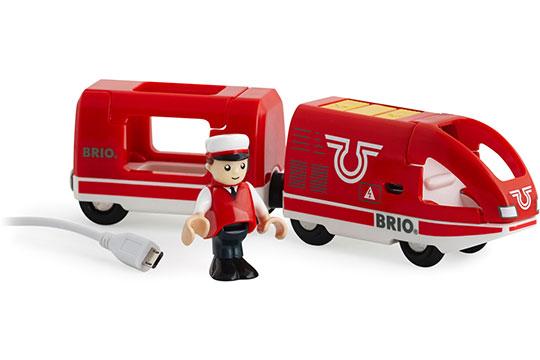 BRIO(ブリオ)USB充電式トラベルトレイン