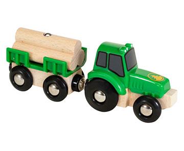 BRIO(ブリオ)トラクターと荷物