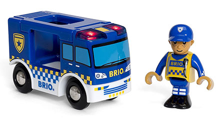BRIO(ブリオ)ライト&サウンド付ポリストラック