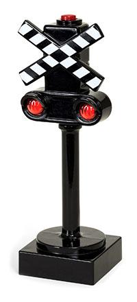 BRIO(ブリオ)ライト付き踏切シグナル