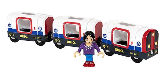 BRIO(ブリオ)ライト&サウンド メトロ列車