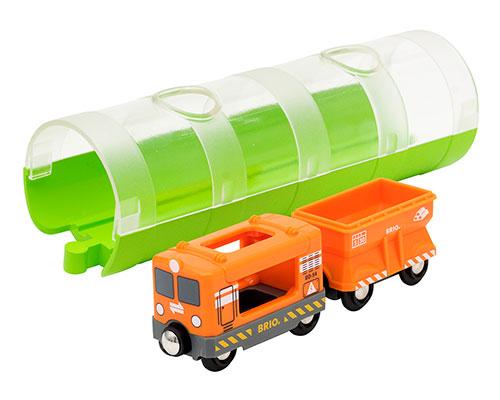 BRIO(ブリオ)カーゴトレイン&トンネル