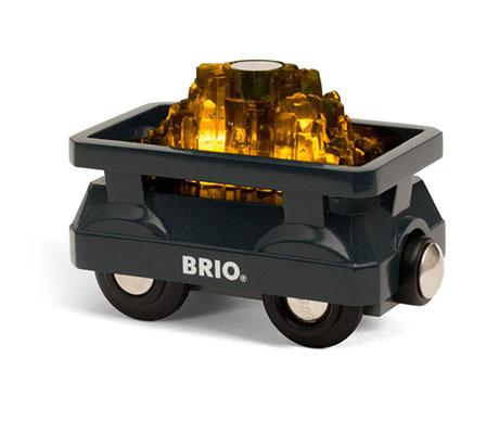 BRIO(ブリオ)ライトアップゴールドワゴン