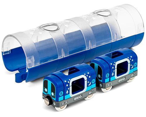 BRIO(ブリオ)メトロトレイン&トンネル
