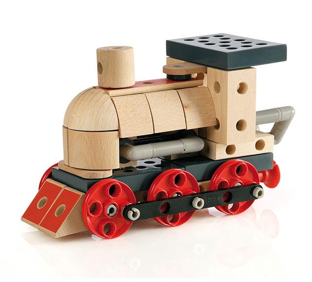 BRIO(ブリオ)ビルダー 蒸気機関車