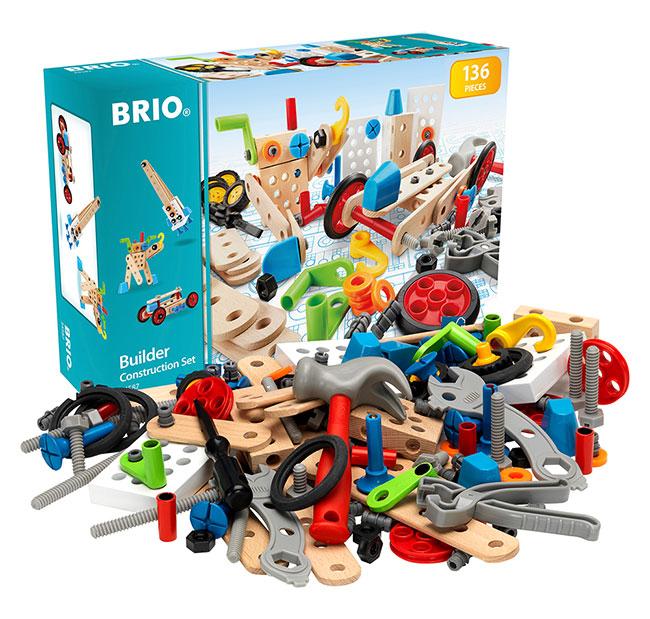 BRIO(ブリオ)ビルダー工事セット