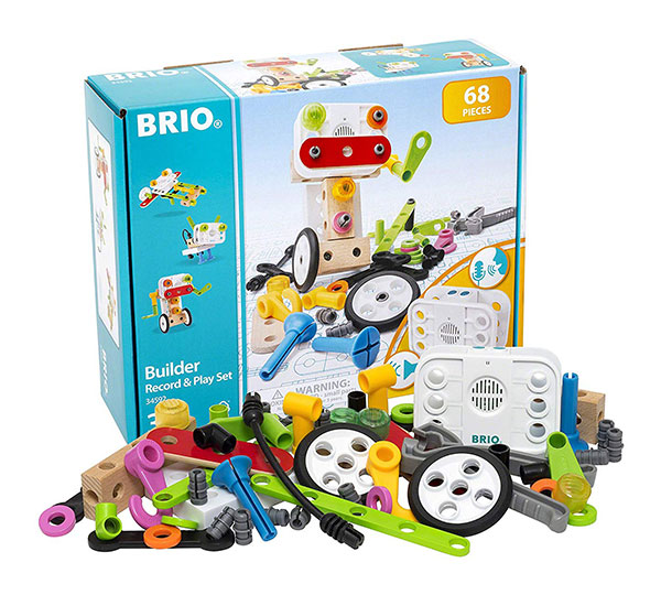 BRIO(ブリオ)ビルダー レコード&プレイセット