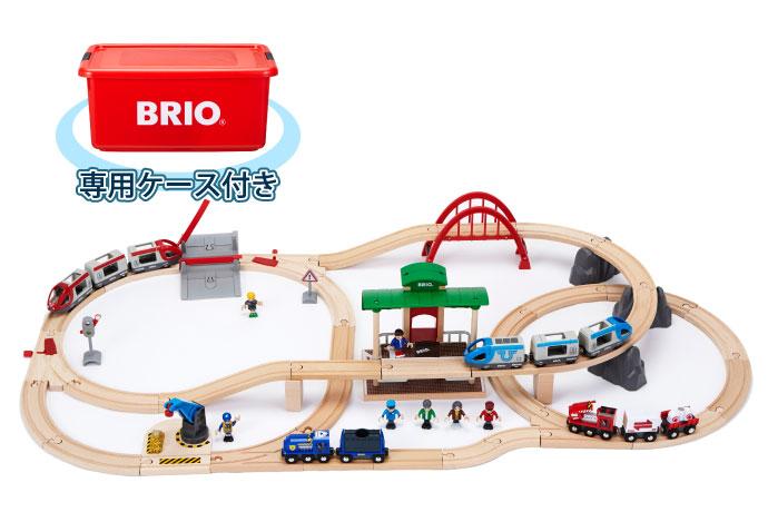 BRIO(ブリオ)2018年クリスマス限定レールセット