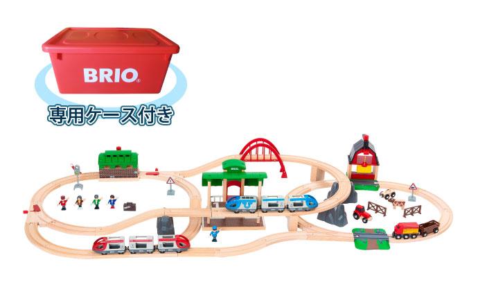 BRIO(ブリオ)2021年クリスマス限定レールセット