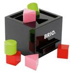 BRIO(ブリオ) 形合わせボックス(黒)