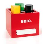 BRIO(ブリオ) 形合わせボックス(レッド)