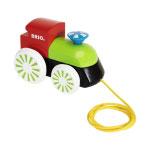 BRIO(ブリオ) 木製蒸気機関車(カラー)