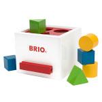 BRIO(ブリオ) 形合わせボックス(白)