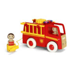 BRIO(ブリオ) ライト&サウンド 消防車