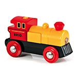 BRIO(ブリオ) バッテリーパワー機関車(黄色)